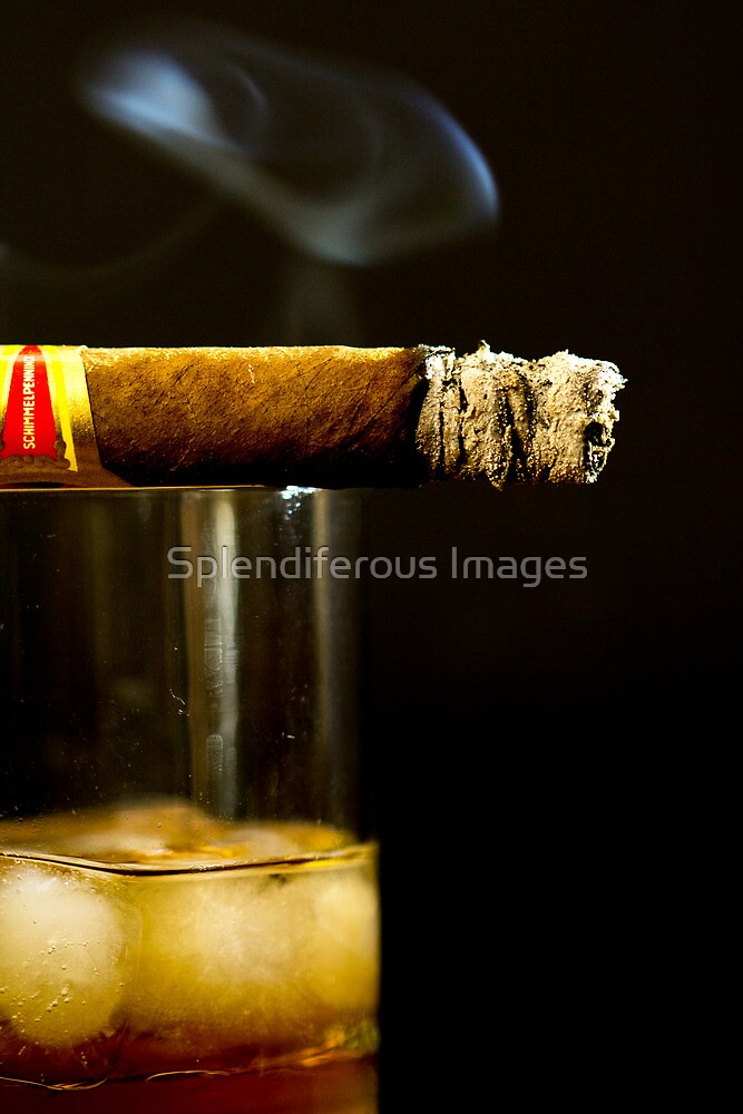 Scotch & Cigar by Splendiferous Images