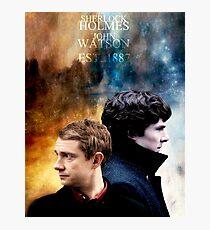 Holmes & Watson Photographic Print