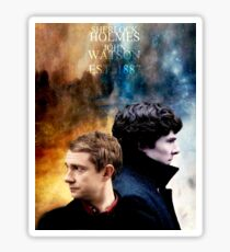 Holmes & Watson Sticker