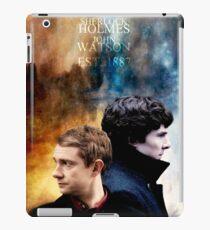 Holmes & Watson iPad Case/Skin