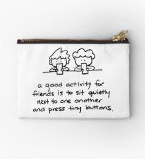 Quiet Friends Studio Pouch