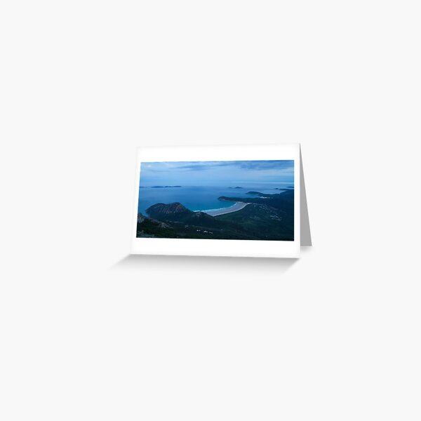 Blue Dawn - Wilsons Promontory Greeting Card