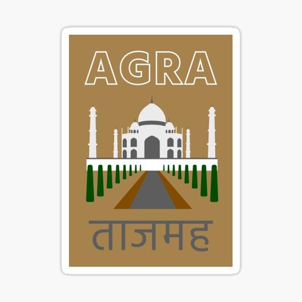 Agra Taj Mahal Sticker
