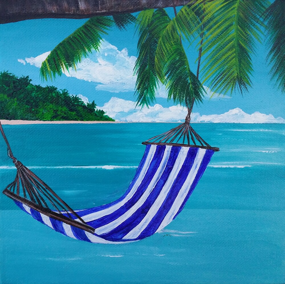 Beach Hammock by BluGeckos