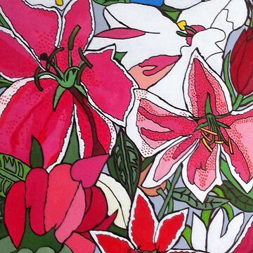 lilies by Mistresslisa666