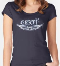 GERTI 3-12 Women's Fitted Scoop T-Shirt