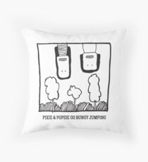 Pixie + Popsie ~ Bungy Jumping Throw Pillow