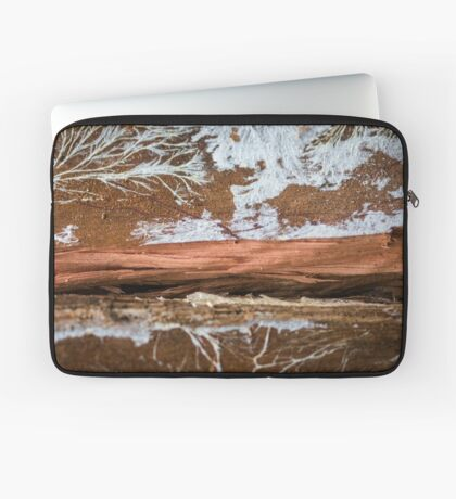 The wood draws trees - Reflecting the Nature it was Laptop Sleeve