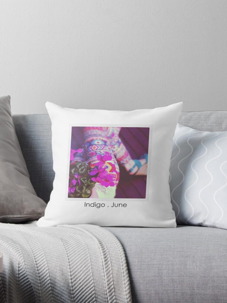 Kayenta pillow + tote by indigojune