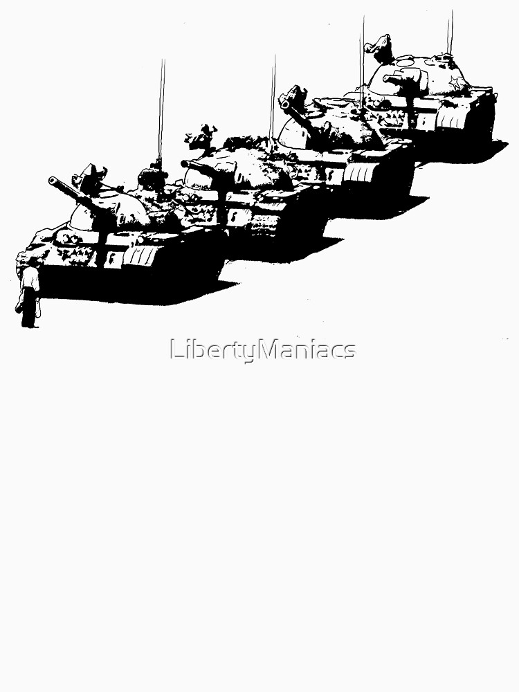 Tank Man by LibertyManiacs