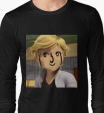 Adrien Agreste ( ͡° ͜ʖ ͡°) Long Sleeve T-Shirt