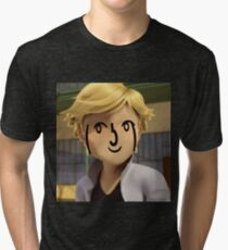 Adrien Agreste ( ͡° ͜ʖ ͡°) Tri-blend T-Shirt