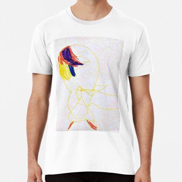 Mermaid Unicorn Rainbow Premium T-Shirt
