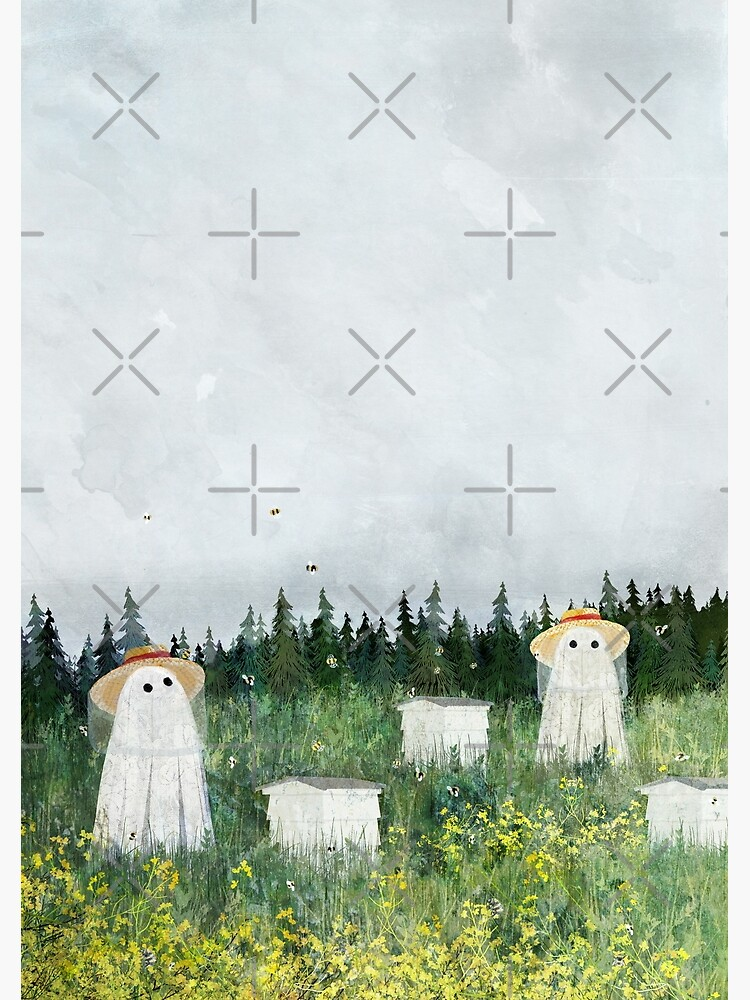 There's Ghosts By The Apiary Again... by katherineblower
