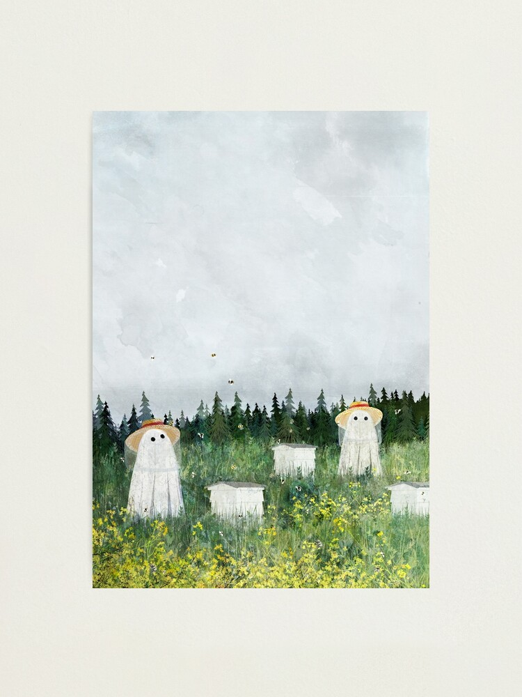 Alternate view of There's Ghosts By The Apiary Again... Photographic Print