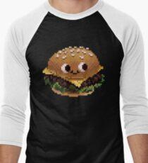 Pixel Burgie Men's Baseball ¾ T-Shirt