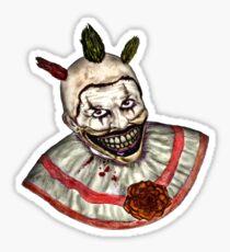 Twisted Clown Sticker