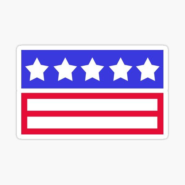 Stars and Stripes Sticker