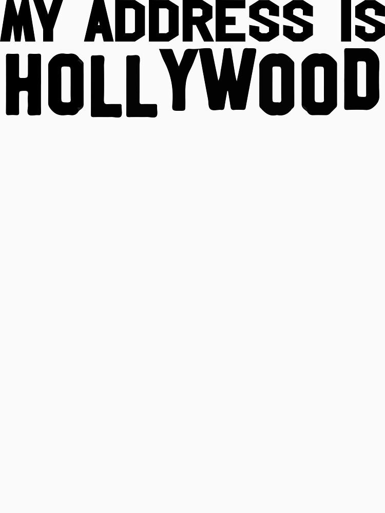 My Address is Hollywood by ahsonline