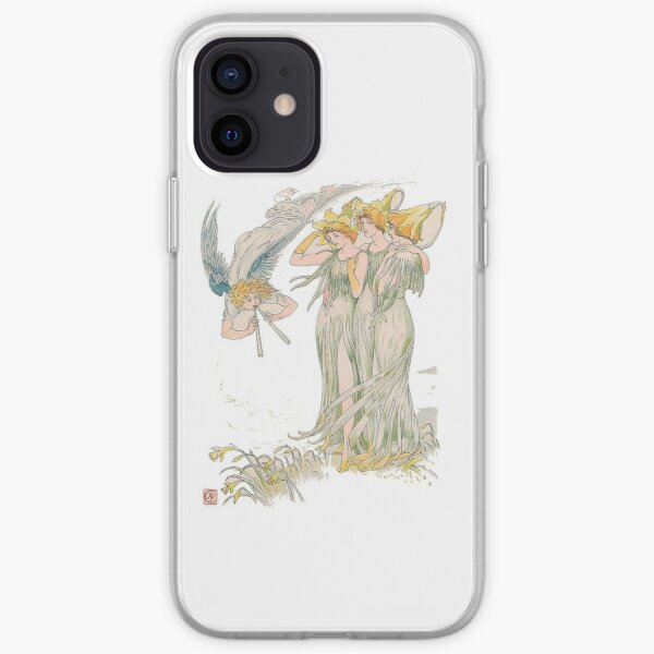 Daffodils in Spring iPhone Soft Case