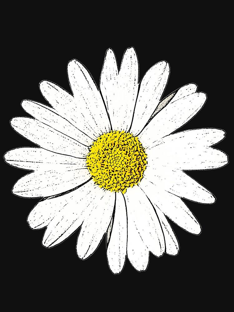 Large Daisy Summer Fashion by jenbewonderland
