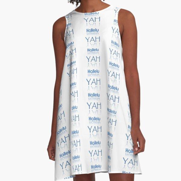 HalleluYAH A-Linien Kleid