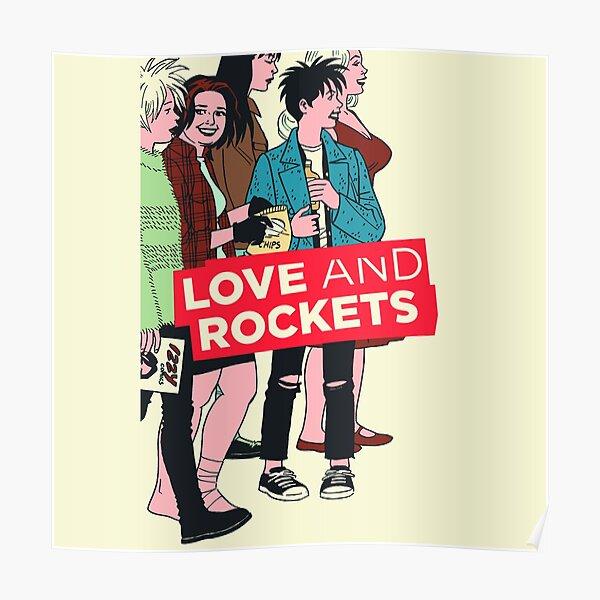 Love and Rockets Pop Art Poster
