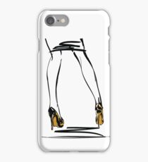 Gold High Heels iPhone Case/Skin