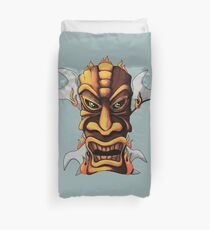 Tiki And Wrenches Duvet Cover