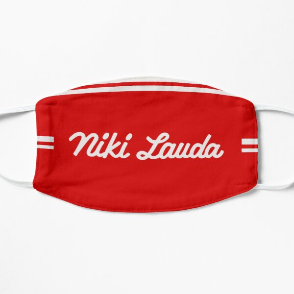 Niki Lauda - Ferrari F1 1975 Mascarilla plana
