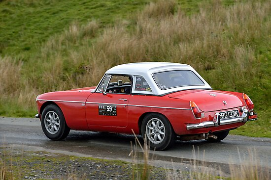 The Three Castles Welsh Trial 2014 - MGB by Three-Castles