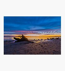 Desolate Sunset Photographic Print