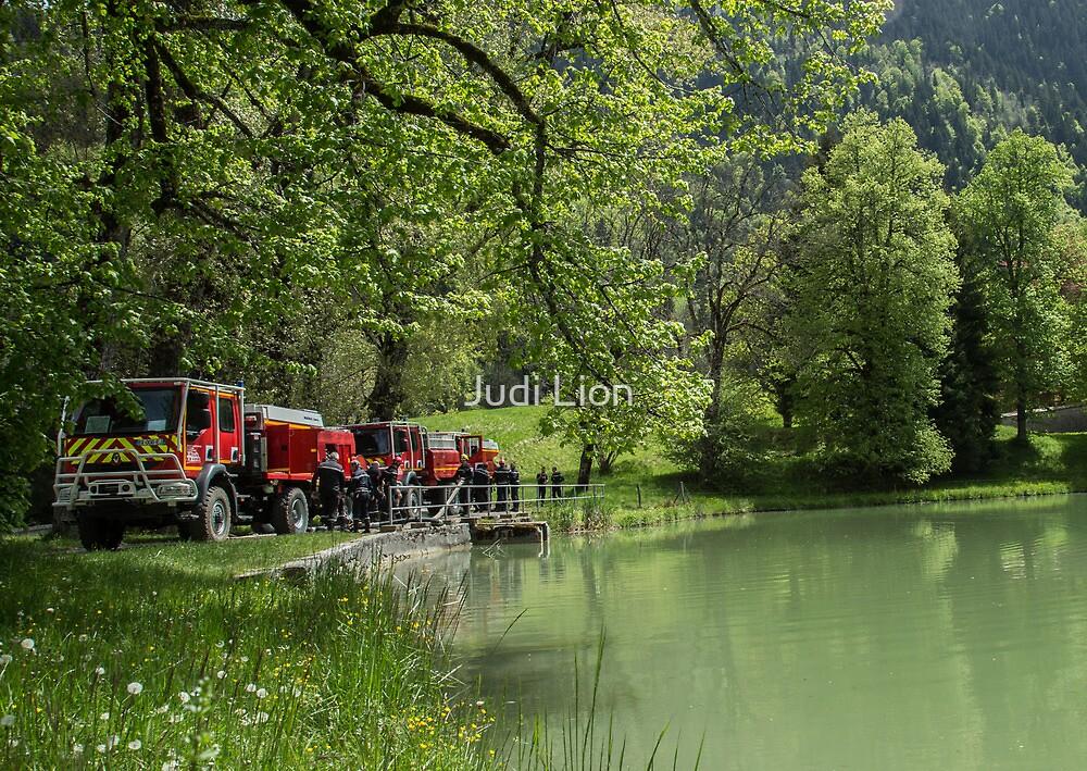 Le Pompier by Judi Lion