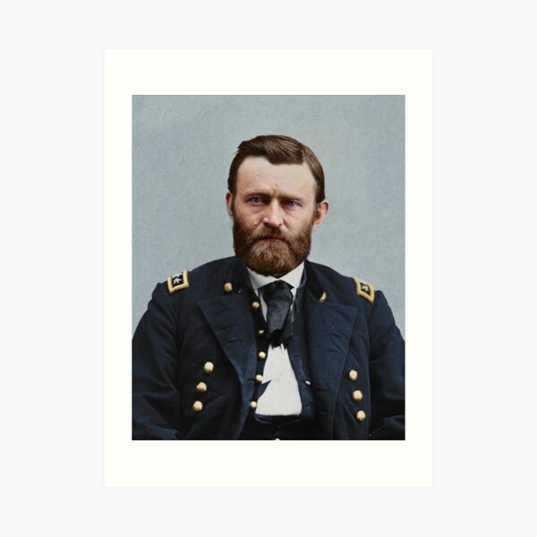 Ulysses S. Grant, 1865. Art Print