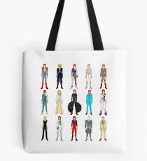 Outfits of Bowie Fashion Tote Bag