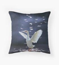 Goose Down Pillow Forsale Throw Pillow