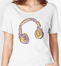 Headphone Tunes Women's Relaxed Fit T-Shirt