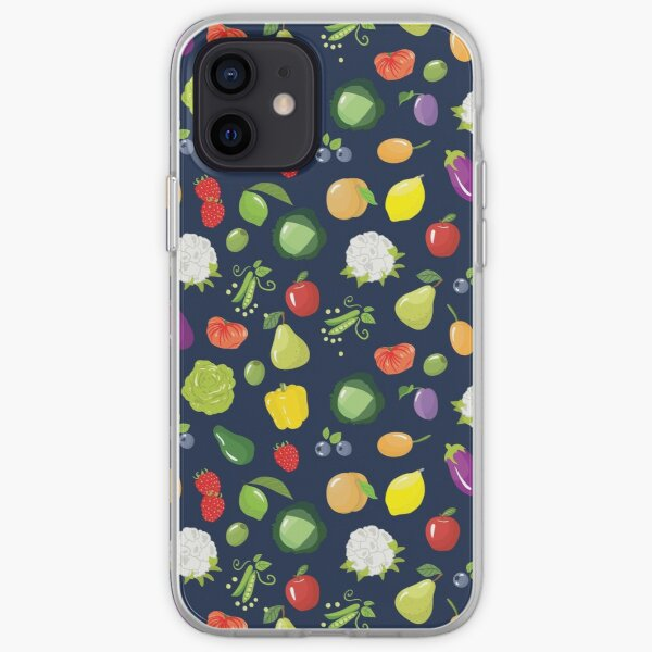 Fruits and vegetables iPhone Soft Case