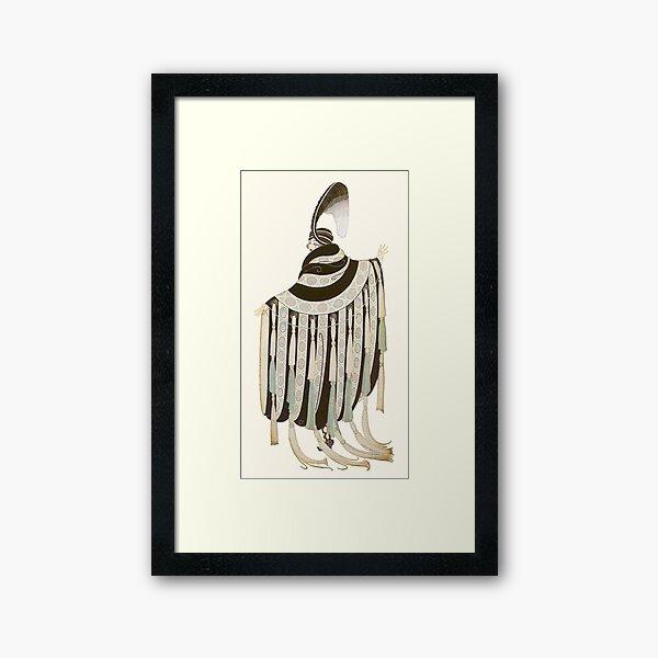 erte Framed Art Print