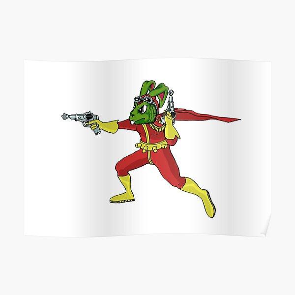 Captain Bucky O'Hare of S.P.A.C.E Poster