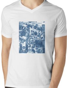 Classic Camera Collection Mens V-Neck T-Shirt