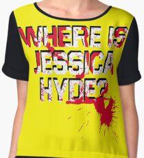 Where is Jessica Hyde? Women's Chiffon Top