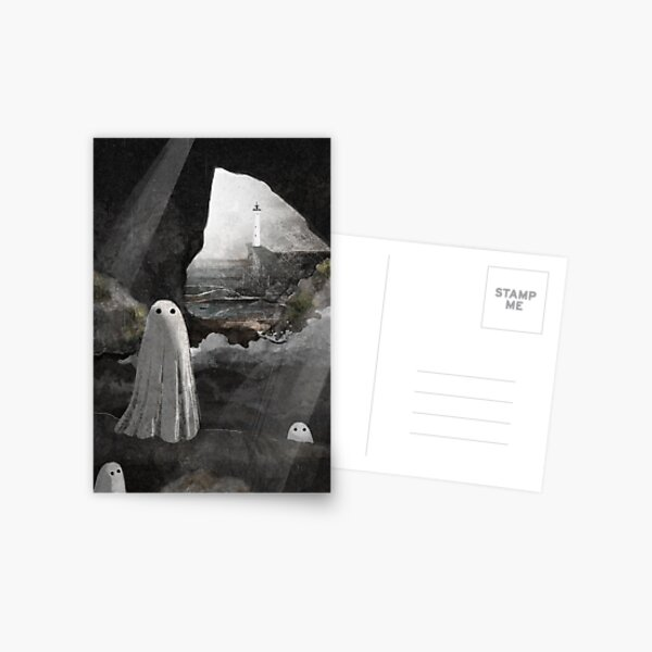 The Caves are Haunted Postcard