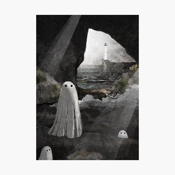 The Caves are Haunted Photographic Print