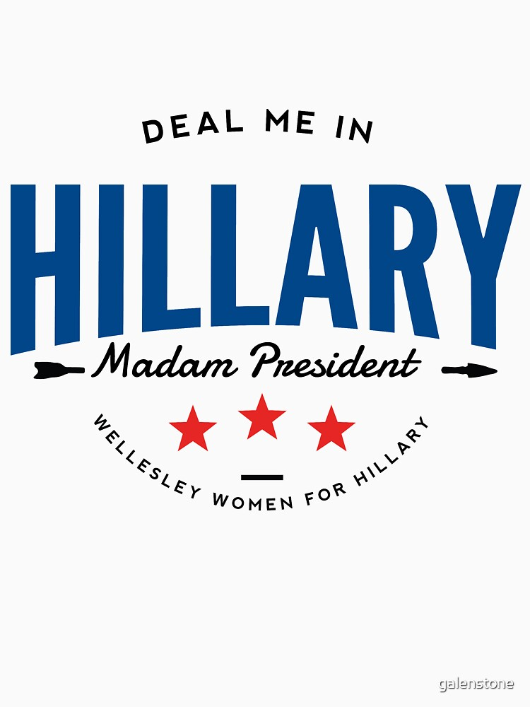 Deal Me In, Madam President | Women's Relaxed Fit T-Shirt