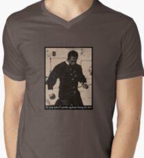 Kung Fu Joe V-Neck T-Shirt