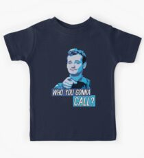 Who You Gonna Call? Ghostbusters! Kids T-Shirt