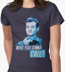 Who You Gonna Call? Ghostbusters! Women's Fitted T-Shirt
