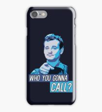 Who You Gonna Call? Ghostbusters! iPhone Case/Skin