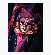 Venetian mask Photographic Print